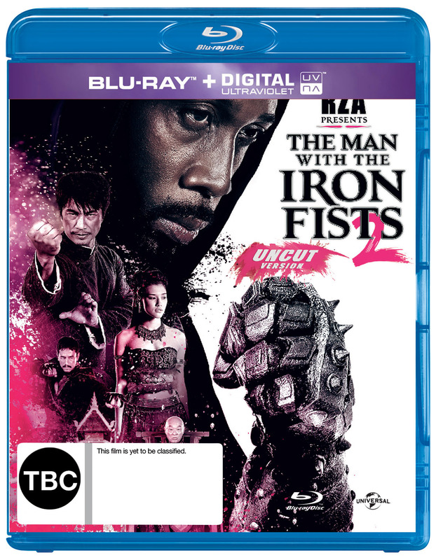 The Man With The Iron Fists 2 on Blu-ray