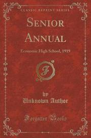 Senior Annual by Unknown Author image