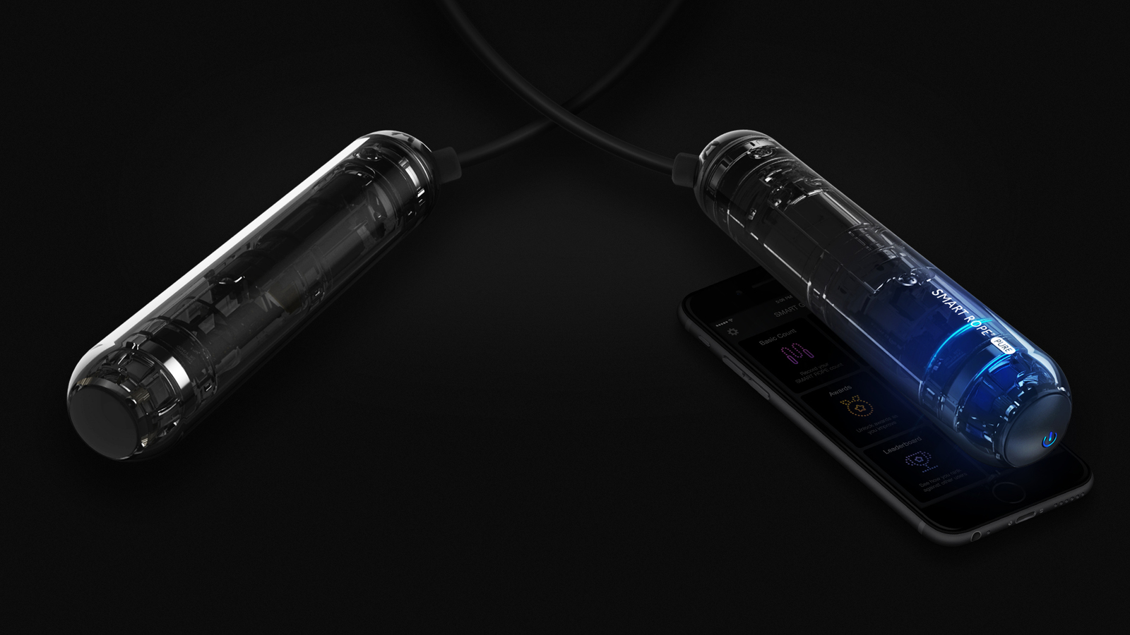 Tangram Smart Rope PURE - Connected Bluetooth Jump Rope image