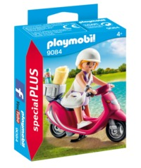 Playmobil: Special Plus - Beachgoer with Scooter (9084)