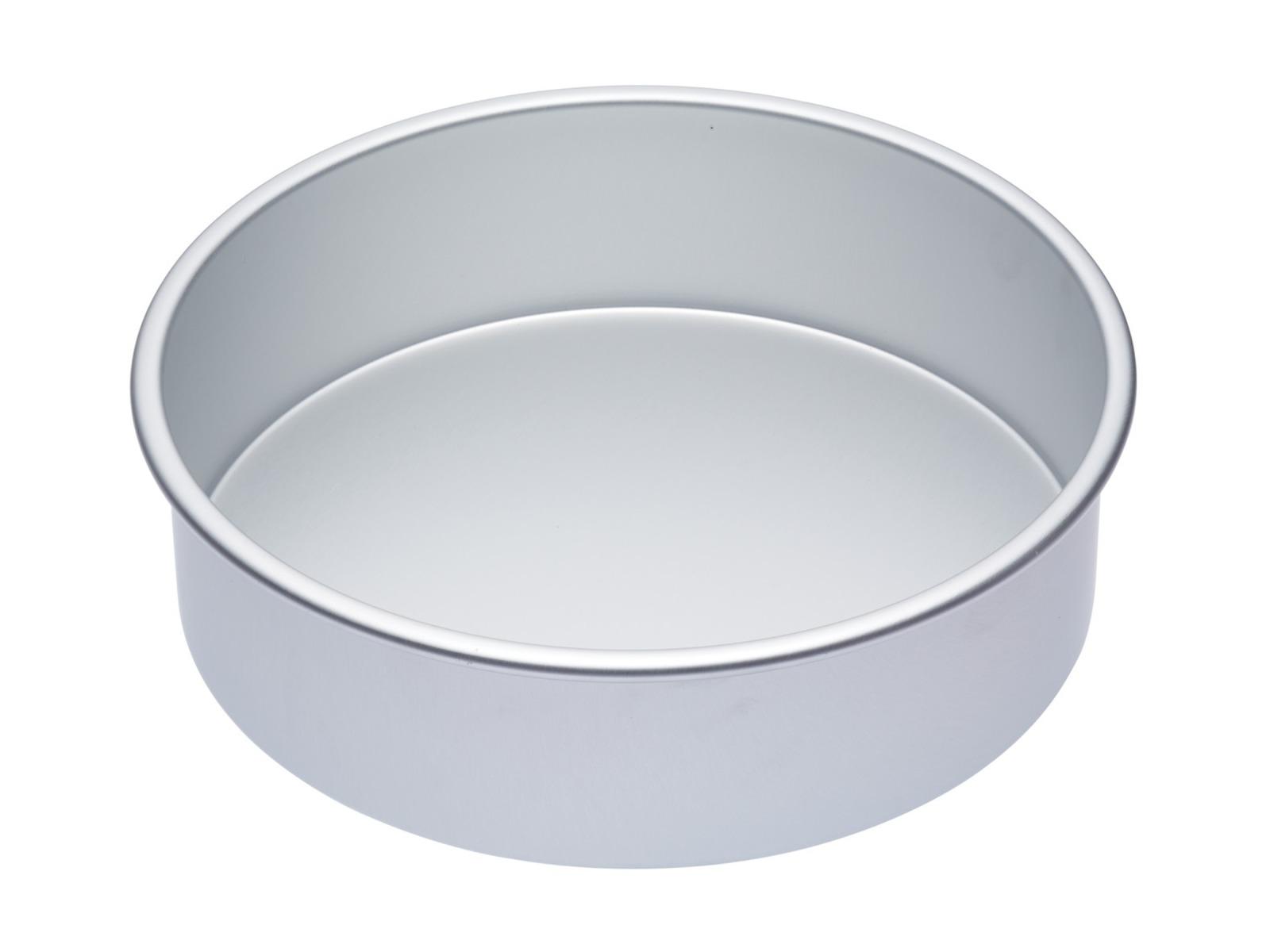MasterClass: Silver Anodised Round Deep Cake Pan (25cm) image