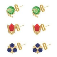 The Legend of Zelda Stone Stud Earrings (3 Pack)