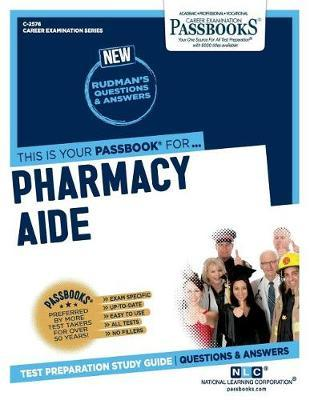 Pharmacy Aide by National Learning Corporation