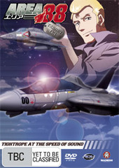 Area 88 - Vol 3 - Tightrope At The Speed Of Sound on DVD