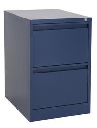 Proceed Lockable Filing Cabinet 2 Drawer - Dusk Blue