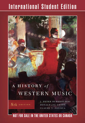 A History of Western Music by Donald Jay Grout image