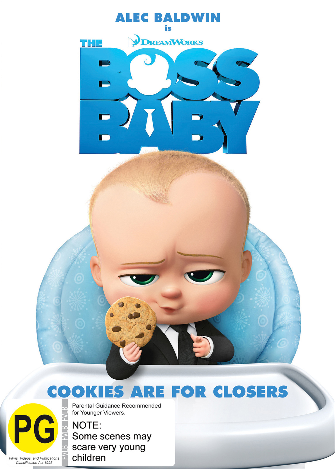 The Boss Baby on DVD image