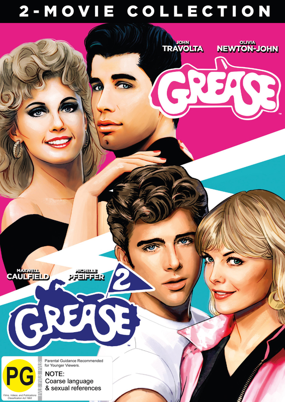 Grease & Grease 2 on DVD