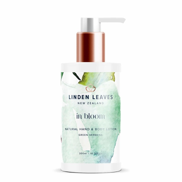 Linden Leaves In Bloom Hand + Body Lotion - Green Verbena (300ml)