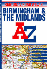 A-Z Birmingham and the Midlands by Great Britain image