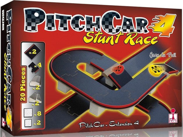 Pitch Car: Extension #4 - Game Expansion