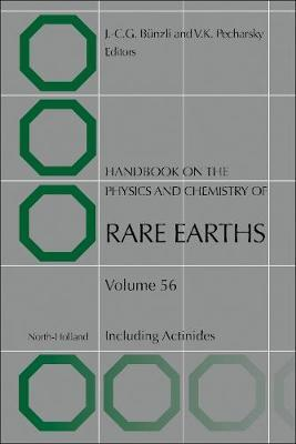 Handbook on the Physics and Chemistry of Rare Earths: Volume 56
