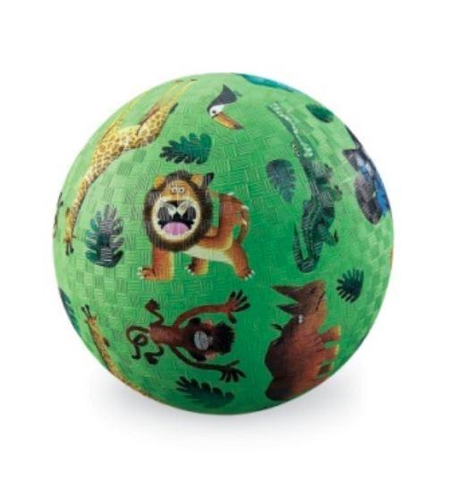 "Crocodile Creek: 5"" Playground Ball - Very Wild Animals"