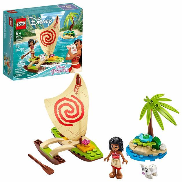 LEGO Disney: Moana's Ocean Adventure - (43170)