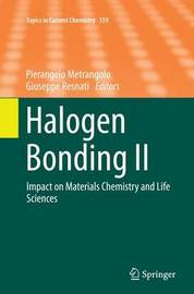 Halogen Bonding II