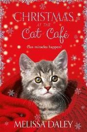 Christmas at the Cat Cafe by Melissa Daley image