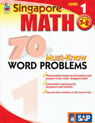 70 Must-Know Word Problems, Grades 1 - 2 image