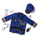 Melissa & Doug: Police Officer Costume Role Play Set