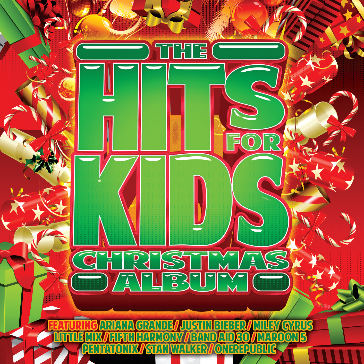 Hits For Kids Christmas (2CD) by Various image