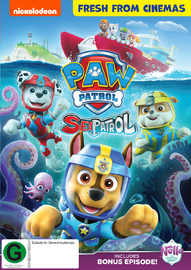 Paw Patrol: Sea Patrol on DVD