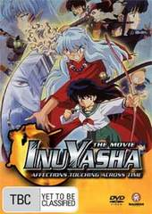 Inuyasha Movie 1 - Affections Touching Across Time on DVD