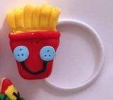 Happy Fries Hairtie