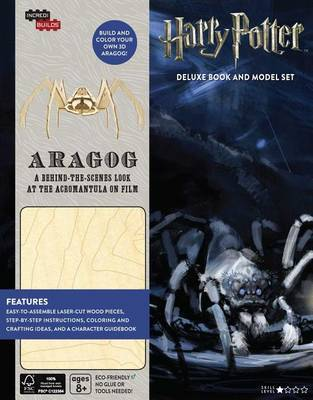 IncrediBuilds: Harry Potter: Aragog Deluxe Book and Model Set by Jody Revenson image