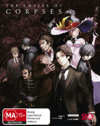 Project Itoh: The Empire Of Corpses on Blu-ray