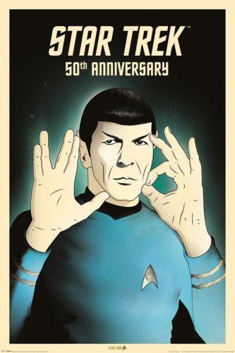 Star Trek 50th: Maxi Poster - Spock (474)