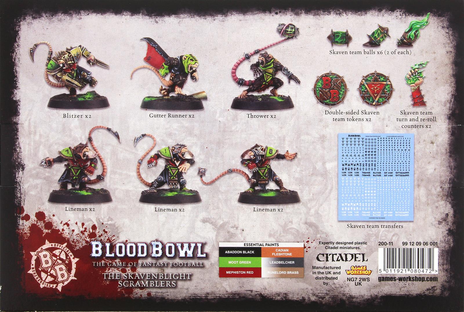 Blood Bowl: Skavenblight Scramblers image