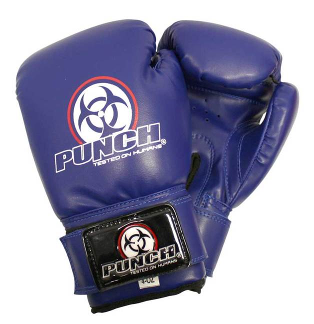 Punch: Urban Junior Boxing Glove - 4.oz (Blue)