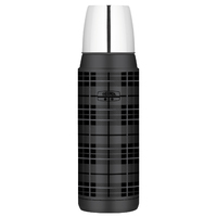 Thermos: Stainless Steel Vacuum Flask -Grey Plaid (470ml)