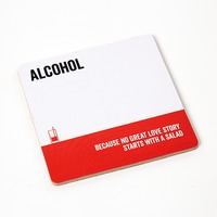 Say It Coaster Alcohol