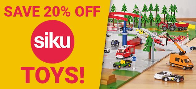 20% off Siku!