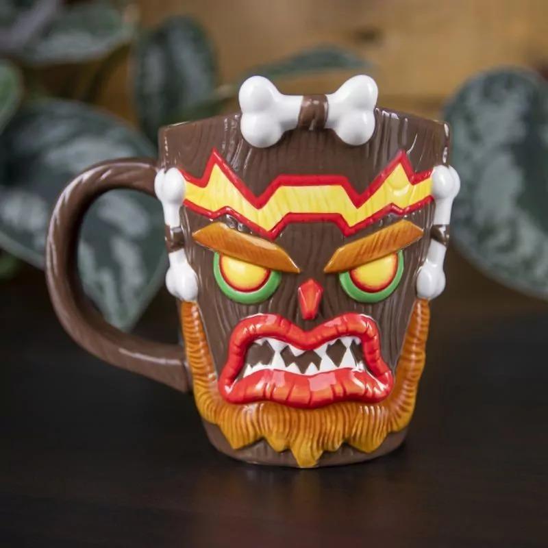 Crash Bandicoot Uka Uka Shaped Mug image