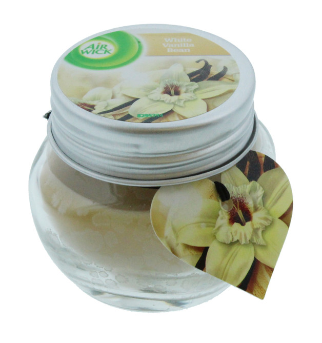 Airwick: Small Jar Candle - White Vanilla Bean (30g)