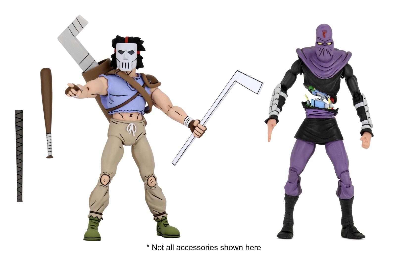 TMNT: Action Figure 2-Pack - Casey Jones & Foot Soldier image