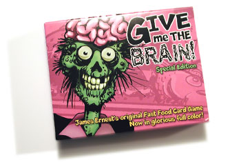 Give me the Brain - special edition image