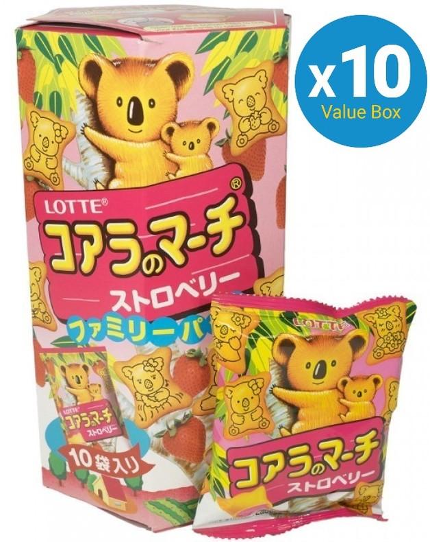Koala's March Family Pack Chocolate (Strawberry) 195g 10pk