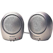Sony Speakers 1W Metallic Silver Finish