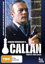 Callan - Complete Season 3 (3 Disc Set) on DVD