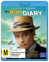 The Rum Diary on Blu-ray