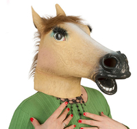 Lady Horse Head Mask