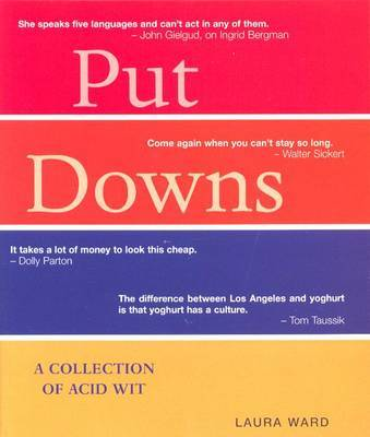 Put Downs by Laura Ward