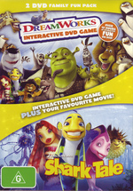 DreamWorks Interactive DVD Game / Shark Tale - 2 DVD Family Fun Pack (2 Disc Box Set) on DVD