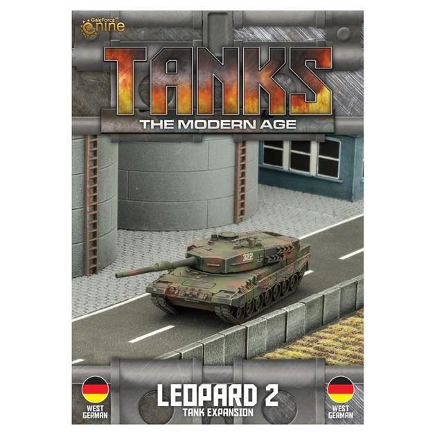 TANKS Modern West German Leopard 2