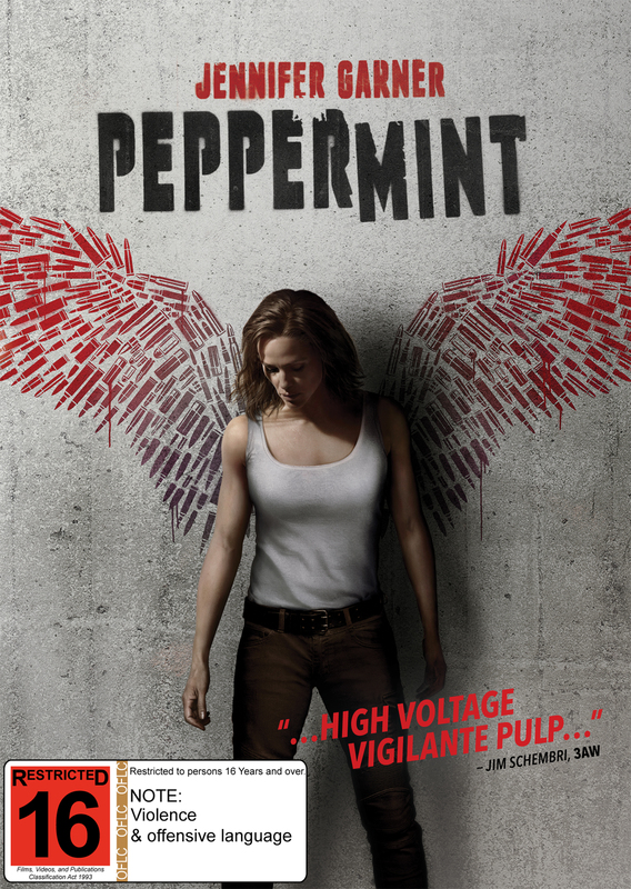 Peppermint on DVD