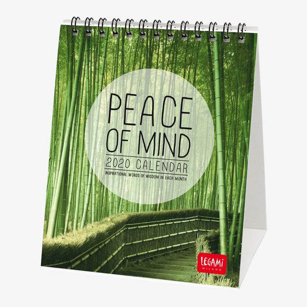 Legami: Peace of Mind Desk Calendar 2020