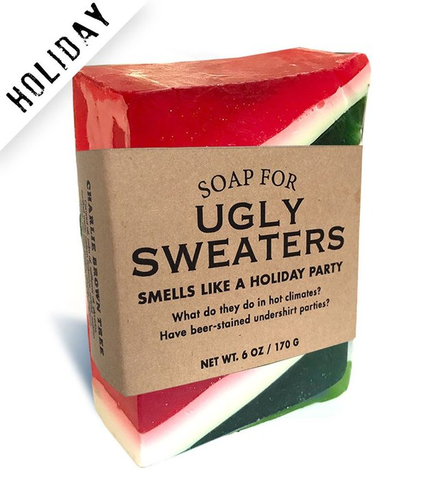 Whiskey River Co: Soap - For Ugly Sweaters