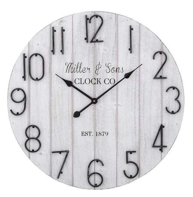 Amalfi: Kurt Wall Clock (68x4.5x68cm)